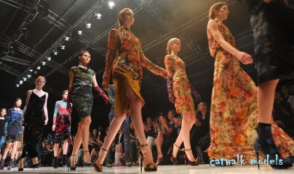 catwalk models